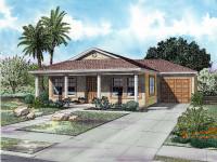 Mediterranean-Style House Plan