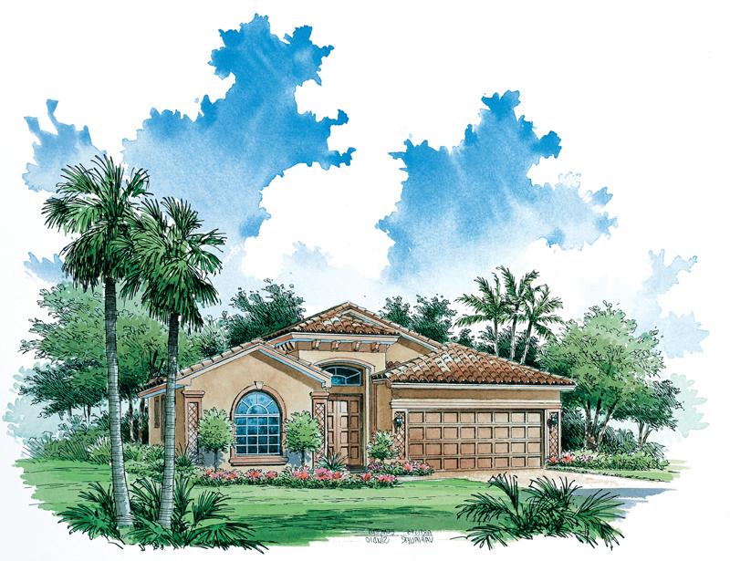 1 story mediterranean house plans home floor plan 1527 0331 for Large mediterranean house plans