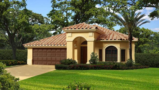 Single Story Luxury Home Plan