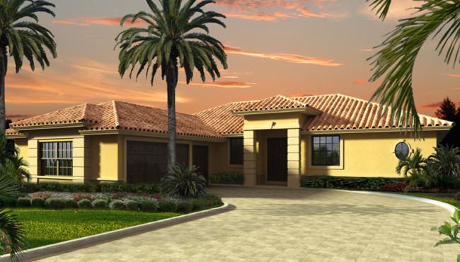 Beautiful House Rendering