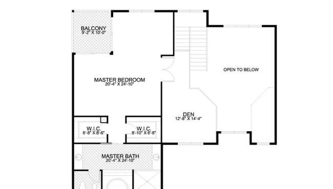 House Second Floor Plan