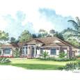 Luxury Home Rendering