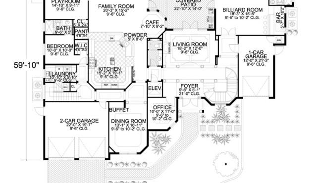 First Floor House Plan