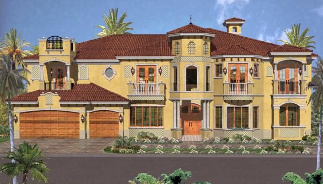 3 Car House Plans