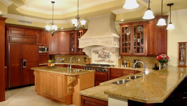 Luxury Kitchen of Home