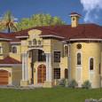 3 Car Luxury House Plans