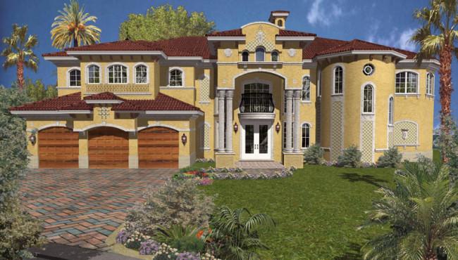 3 Car Luxury Home