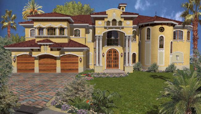 Three Car Garage Luxury Home
