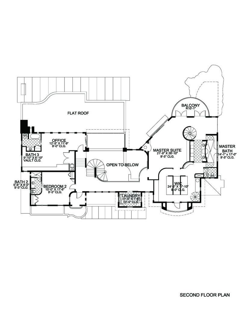 7842-0351-Large-Floor-B Stucco Floor Plans Sf Home on 500 square foot house floor plans, 800 square foot house plans, 1 500 sf open floor plans,