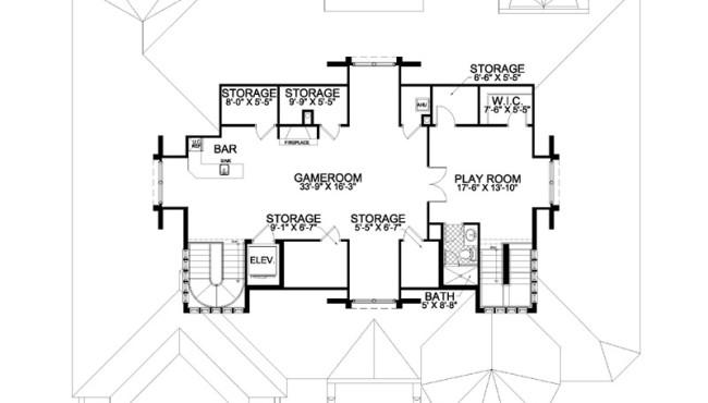Attic Floor Plans